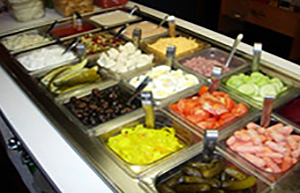 Salad Bar at Alphy's